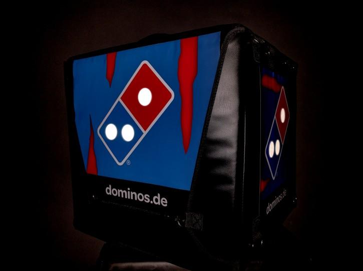 Domino's Reflektionsaufkleber für TSL-Box SET aus 9 Klebepunkten
