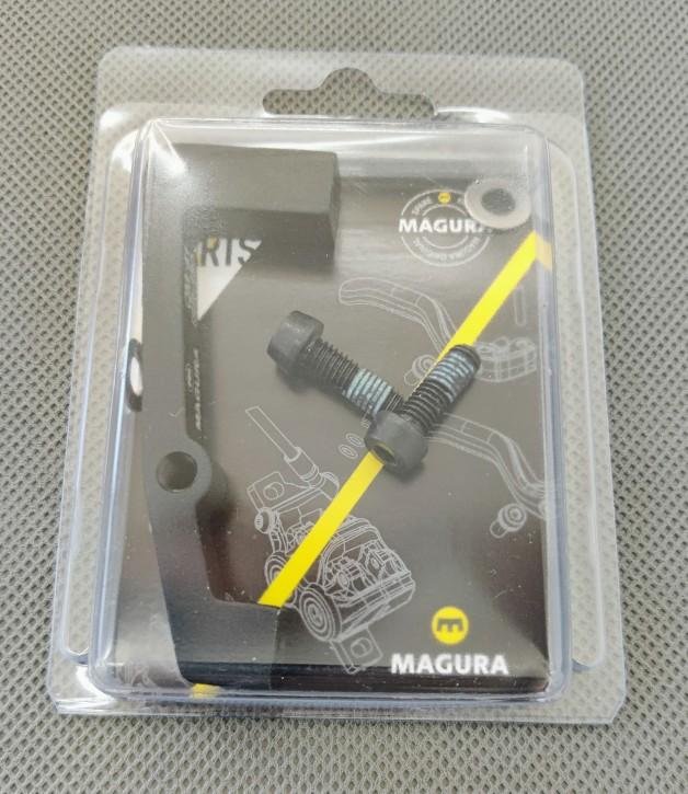 MAGURA Bremssatteladapter QM40 für 180mm  Bremsscheibe Vorderrad
