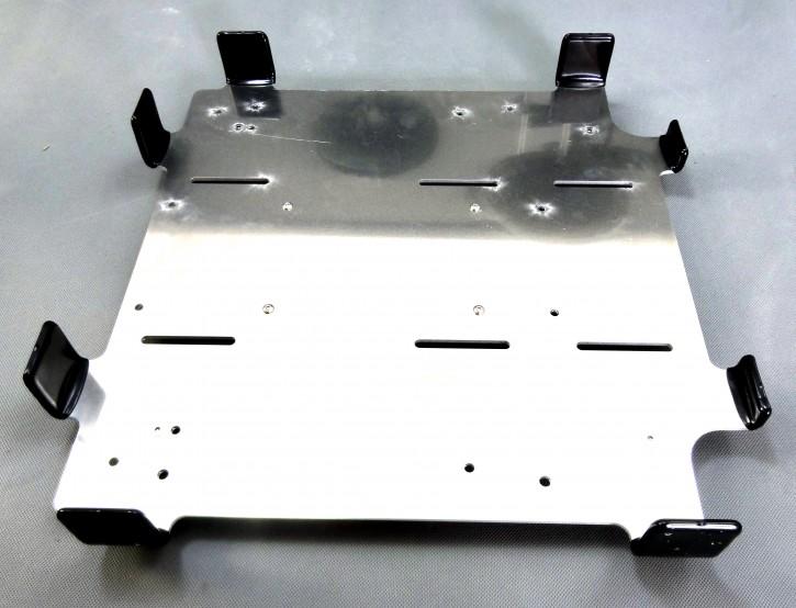 Montageplatte für TSL Boxen auf Kymco Agility Carry 50